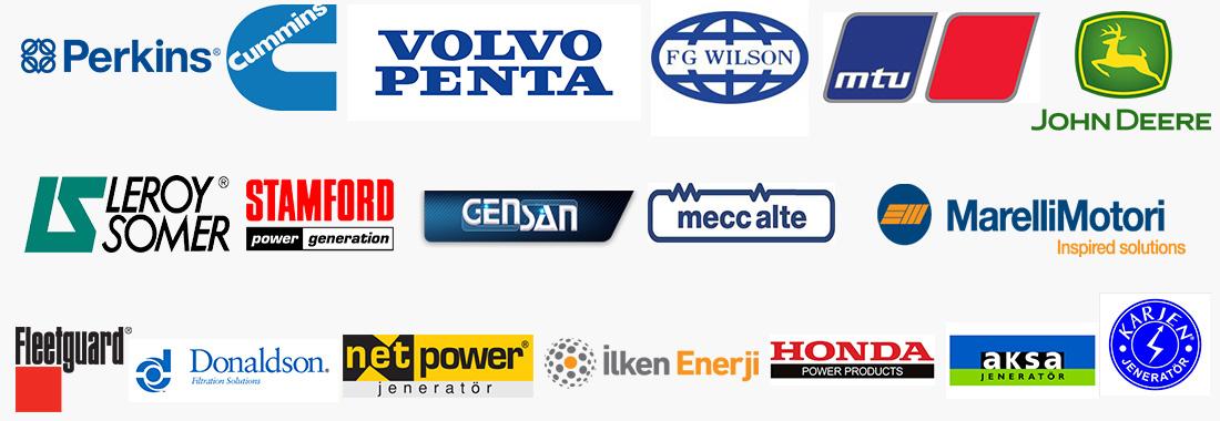 Jeneratör satış, Jeneratör servis, Dizel motor ve Yedek parça