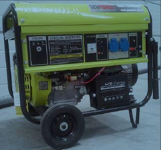 Genpower 7 kVA Benzinli Portatif Monofaze Jeneratör GBG7000ME