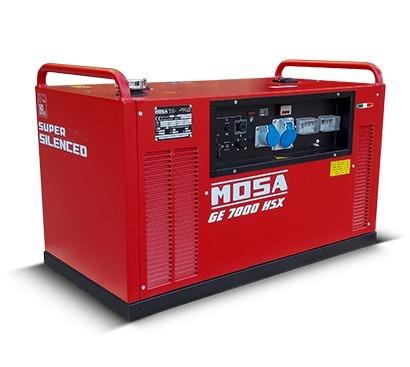 MOSA 7 kVA Benzinli Portatif Kabinli Jeneratör GE7000HSX