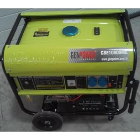 Genpower 10 kVA Benzinli Portatif Monofaze Jeneratör GBG10000ME