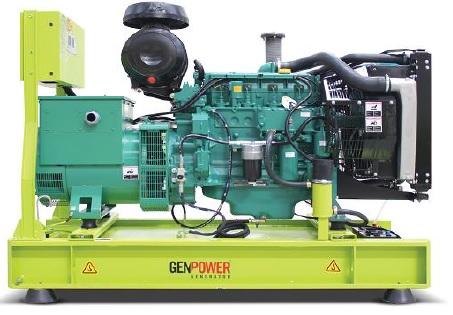 Genpower Volvo 94-509 kVA Otomatik Dizel Kabinli Jeneratör Setleri