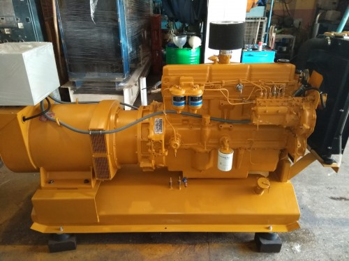 2.el Ford 70 kVA Otomatik Dizel Jeneratör Seti (Alman)